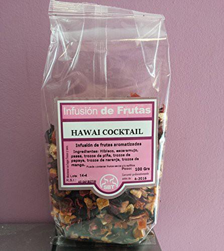 infusion de frutas hawai cocktail
