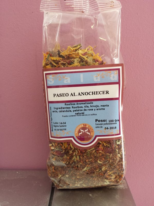 ROOIBOS PASEO AL ANOCHECER 100 grs.