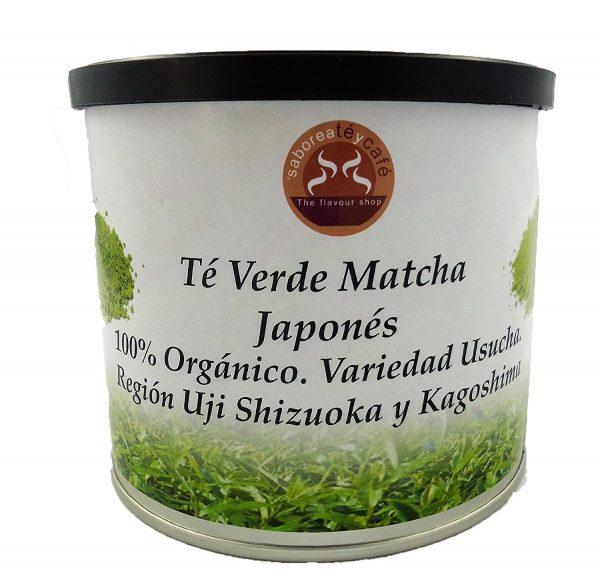 Té Verde Natural Matcha Japonés de Uji, Shizuoka y Kagoshima. 100% Bio y Original. Grado Ceremonial. Ecológico polvo Puro.