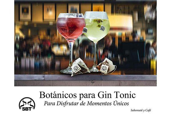 Botánicos 12 Gin Frutal y 12 Gin Silvestre para Ginebras Premium en Bolsa Pirámide con 24 unidades.