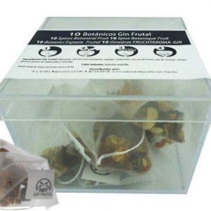 Botánicos Frutales para Gin Tonic Especias Para Cócteles Ginebra Premium Kit Gift Set Sabor Frutal 10 Unidades