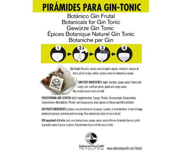 flyer gin tonic frutal 1 The Flavour Shop. Tu tienda online de té, café, rooibos e infusiones Saboreaté y Café
