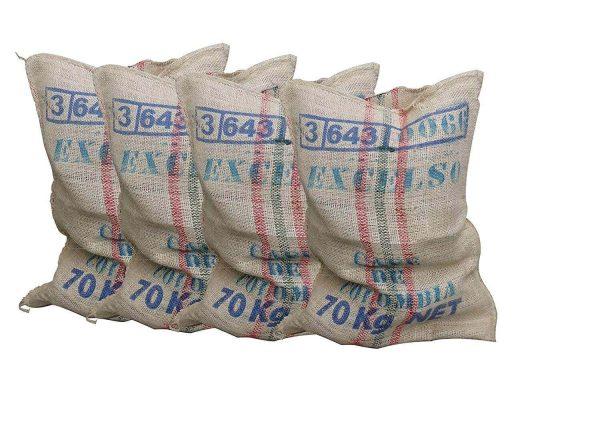 Pack de 4 Sacos de Arpillera o Yute