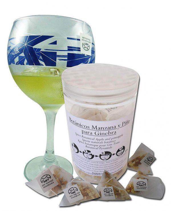 Botánicos Gin Tonic Especias Para Cócteles Ginebra Premium Kit Gift Set Manzana Mango Sabor Aroma Natural Té Botanic 12 Unidades