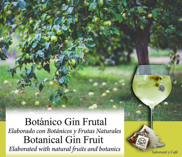 Botánicos para Gin Tonic Cócteles Ginebra Premium Kit Gift Set Frutal Sabor Aroma Natural 24 Uds