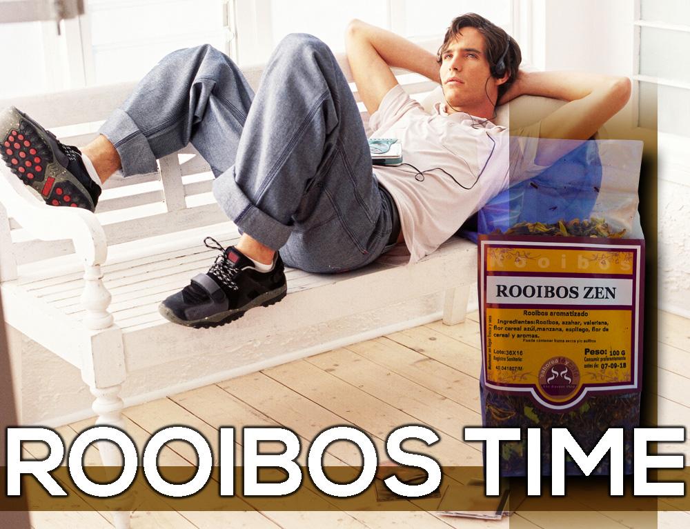 ROOIBOS ZEN The Flavour Shop. Tu tienda online de té, café, rooibos e infusiones Saboreaté y Café