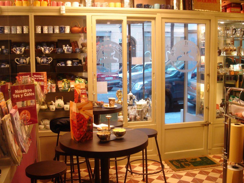 Tienda Mario 7 The Flavour Shop. Tu tienda online de té, café, rooibos e infusiones Saboreaté y Café