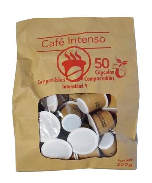 CAPSULAS SBT INTENSO DELANTERA 2 The Flavour Shop. Tu tienda online de té, café, rooibos e infusiones Saboreaté y Café