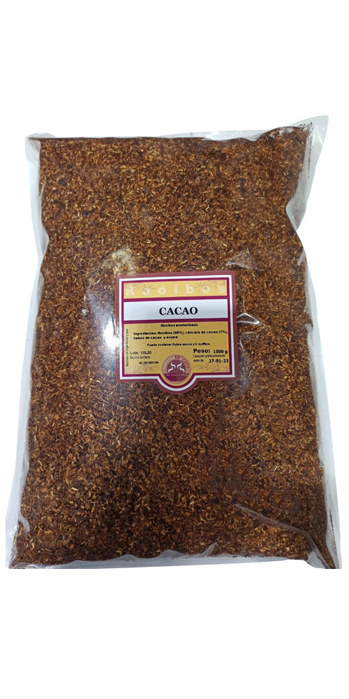 rooibos CACAO 500 gramos